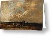 Landscape 1870 Greeting Card