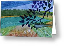 Landscape Angles Greeting Card