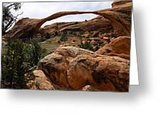 Landscape Arch -- Arches National Park Greeting Card