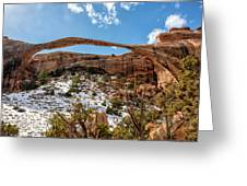 Landscape Arch - Arches National Park Moab Utah Greeting Card
