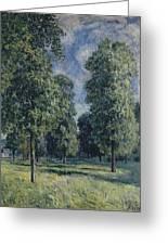 Landscape At Sevres Greeting Card