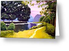 Landscape  Greeting Card by Carola Ann-Margret Forsberg