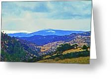 Landscape From Virginia Dale Greeting Card