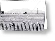 Landscape Galisteo Nm H10r Greeting Card