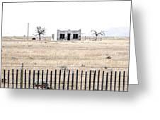 Landscape Galisteo Nm H10x Greeting Card