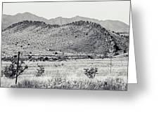 Landscape Galisteo Nm I10u Greeting Card