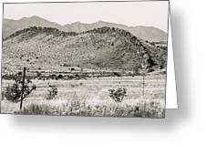 Landscape Galisteo Nm I10v Greeting Card