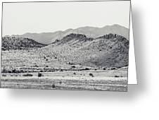 Landscape Galisteo Nm J10a Greeting Card
