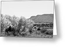 Landscape Galisteo Nm J10o Greeting Card