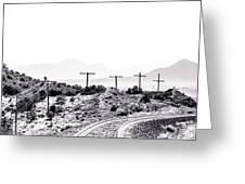 Landscape Galisteo Nm J10u Greeting Card