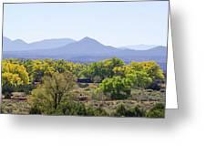 Landscape Galisteo Nm K10e Greeting Card