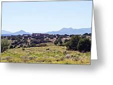 Landscape Galisteo Nm K10h Greeting Card