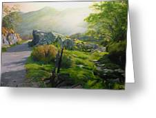 Landscape In Wales Greeting Card
