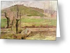Landscape Near Pont Aven Greeting Card