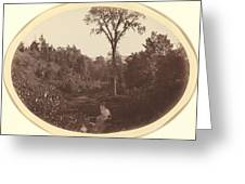 Landscape Near Williams College Greeting Card