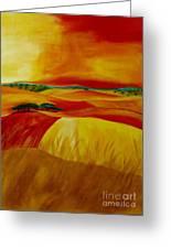 Landscape Of Alentejo Greeting Card