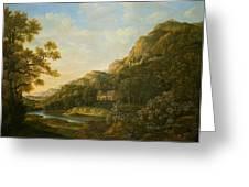 Landscape Painter Greeting Card