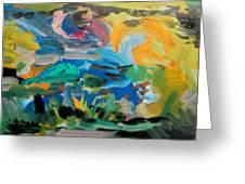 Landscape Palette Greeting Card