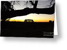 Landscape Roman Campagna Italy Greeting Card