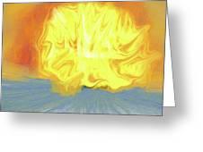 Landscape Sunrise Greeting Card