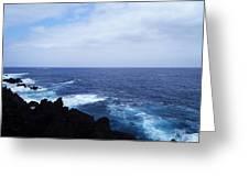 Wild Sea Greeting Card