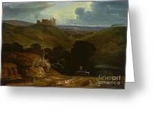 Landscape With A Castle Greeting Card