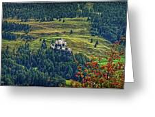 Landscape With Castle Greeting Card