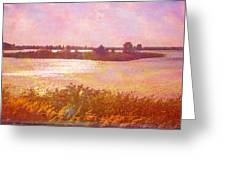 Landscape With Island 008 01 01 2016 Greeting Card