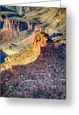 Landscapes At Grand Canyon Arizona Greeting Card