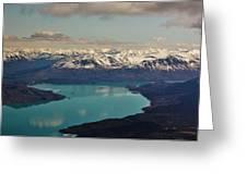 Landscapes Of Alaska Greeting Card