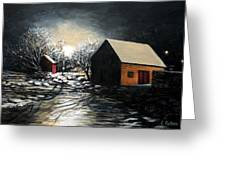 Lanes Cove After The Storm Greeting Card