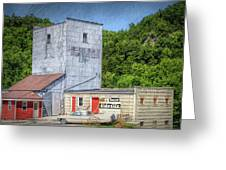 Lanesboro Grain Elevator Greeting Card