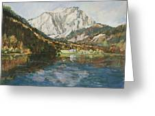 Langbathsee Austria Greeting Card