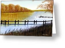 Langford Bay Greeting Card