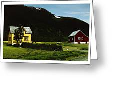 Langsund Greeting Card