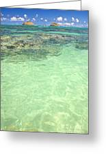 Lanikai, Mokulua Islands Greeting Card