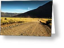 Lanin National Park Greeting Card