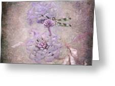 Lantana In Purple Greeting Card