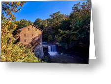 Lanterman's Mill Greeting Card