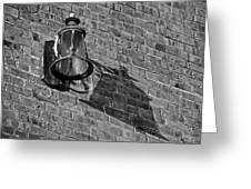 Lantern Shadow Greeting Card