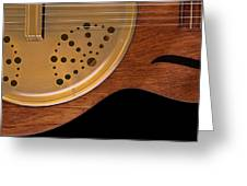 Lap Guitar I Greeting Card