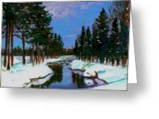 Lapland Greeting Card