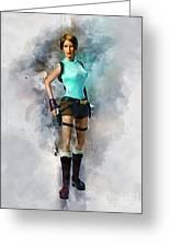 Lara Greeting Card