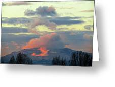 Wyoming Sunsets 1 Greeting Card