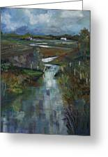 Laramie River Valley  Greeting Card