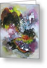 Large Color Fever Art23 Greeting Card