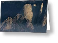 Large Granite Mountains In California Greeting Card