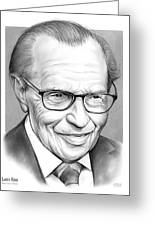 Larry King Greeting Card