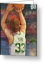 Larry Legend Greeting Card