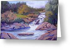 Larsen Falls Greeting Card